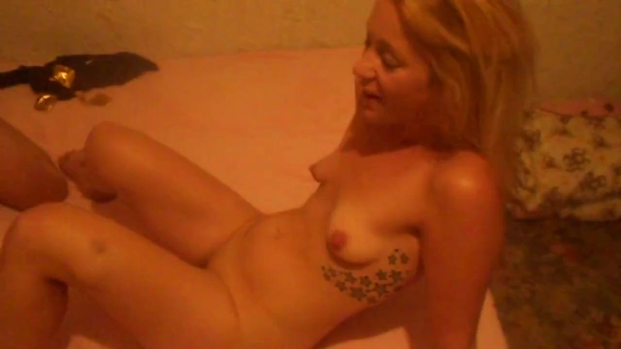 Секс блондинки с мужем